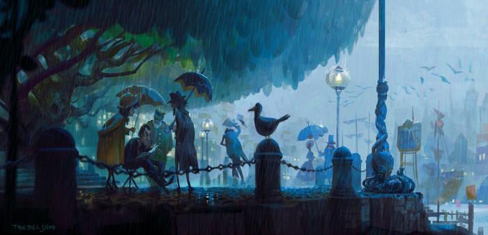 Rainy Plen Air