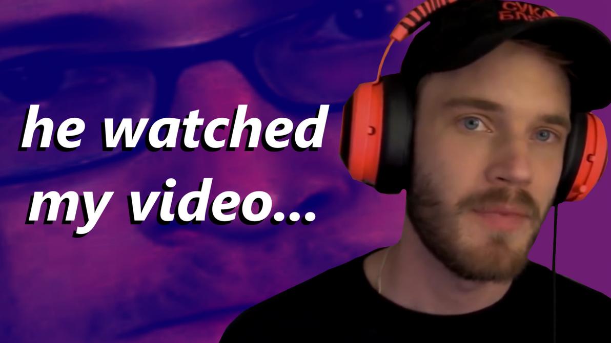 PewDiePie Thumbnail by JedDraws