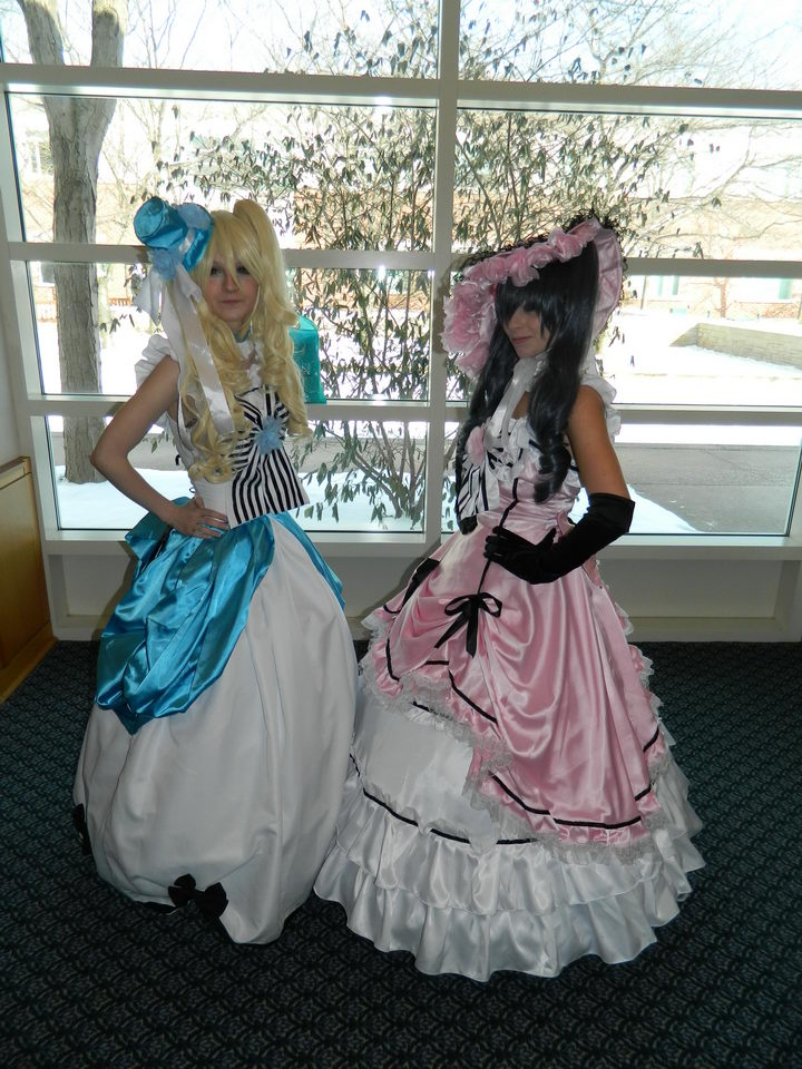 Ciel and alois cosplay