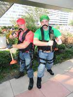 Tactical Mario Bros Otakon 2014