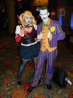 Harley Quinn Joker Anime USA 2015 by bumac