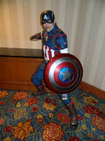 Captain America Anime USA 2015 by bumac