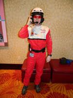 NASCAR Official Firesuit Front Zenkaikon 2017 by bumac