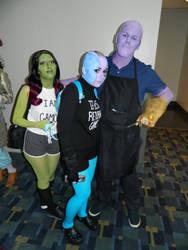 Thanos Family BBQ Otakon 2018 by bumac