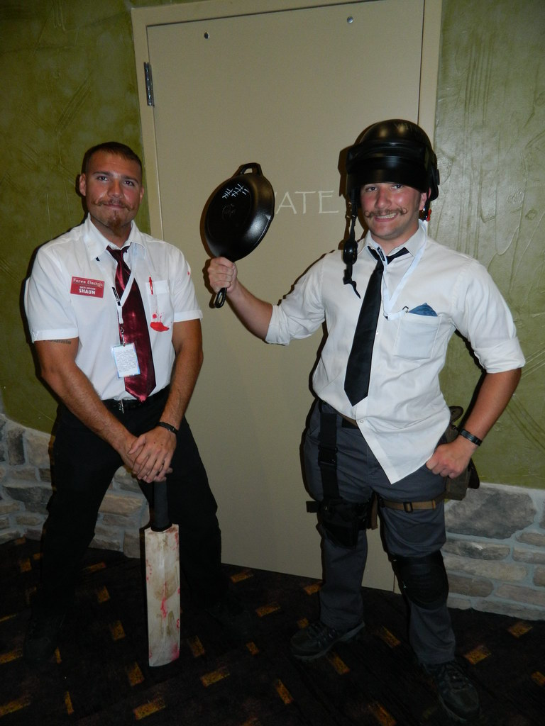 Shaun of the Dead Colossalcon East 2018 by bumac
