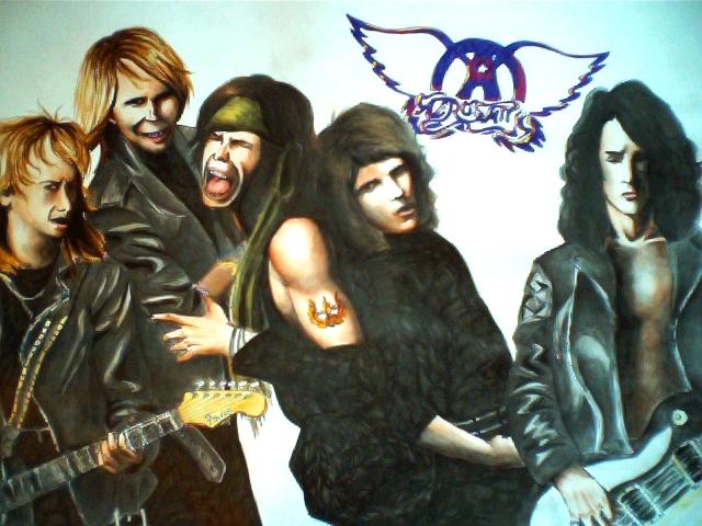 Aerosmith-Pump poster by SavanasArt