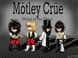 Motley Crue by SavanasArt