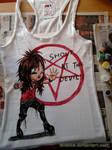 Shout at the Devil T-shirt by SavanasArt