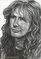 Dave Mustaine by SavanasArt