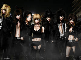 The Vampires of Los Angeles by SavanasArt