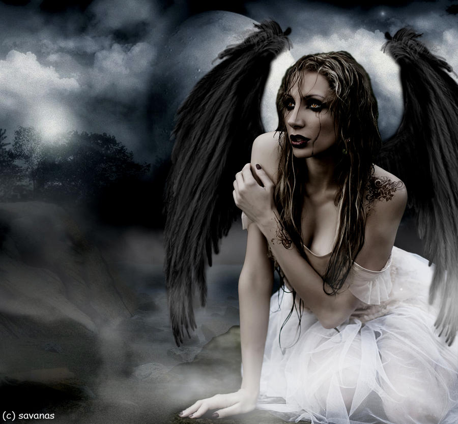 Fallen Angel by SavanasArt