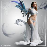 Cyber Angel by SavanasArt