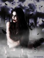 Vampire beauty by SavanasArt