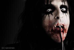Alice Cooper Vampire by SavanasArt