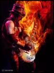 Fire Guitar 2