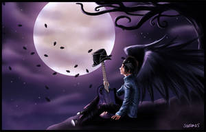 Full Moon by SavanasArt