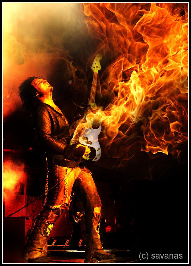 Fire Bass by SavanasArt