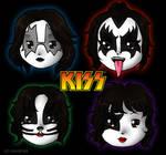 KISS chibis