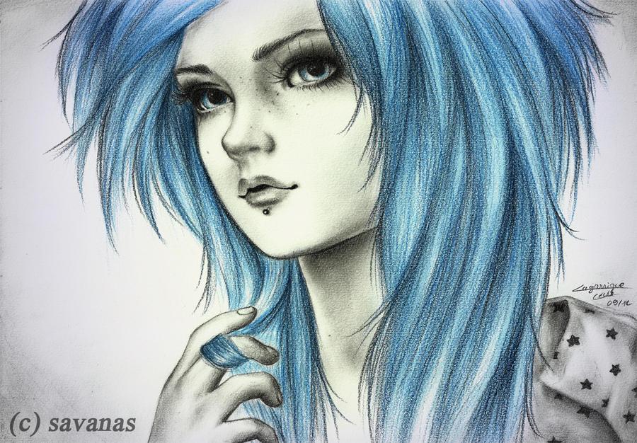Blue Spirit by SavanasArt