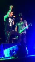 Slash and the Conspirators live 5 by SavanasArt
