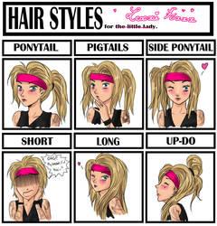 Hair Styles Meme by SavanasArt