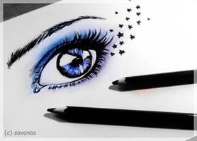 Starry Eye by SavanasArt