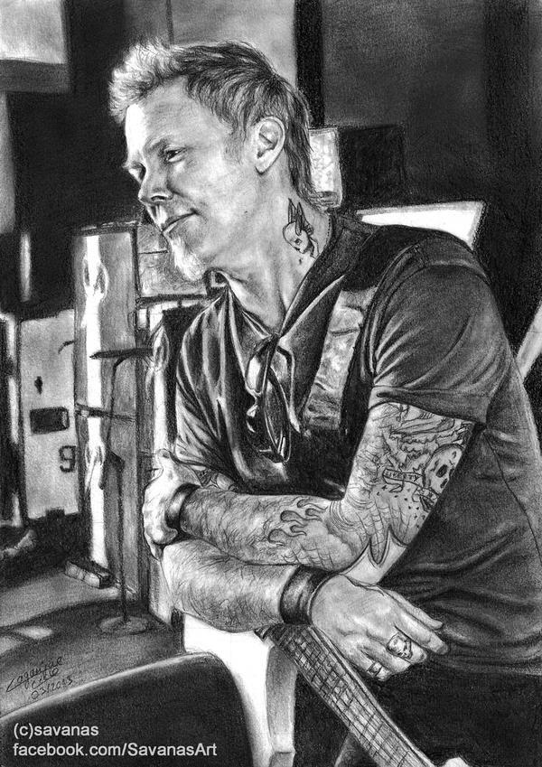 James Hetfield by SavanasArt