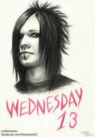 Wednesday 13 by SavanasArt