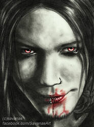 Vampire Ashba by SavanasArt