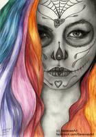 Rainbow Dead by SavanasArt