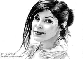 Kat Von D 3 by SavanasArt