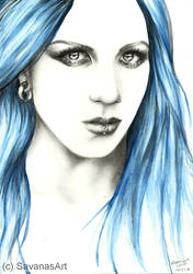Alissa White-Gluz by SavanasArt
