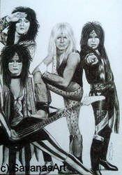 Motley Crue by SavanasArt