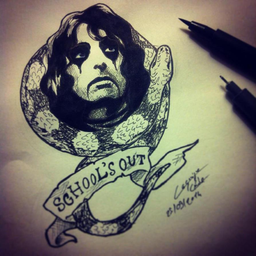 Alice Cooper Doodle by SavanasArt