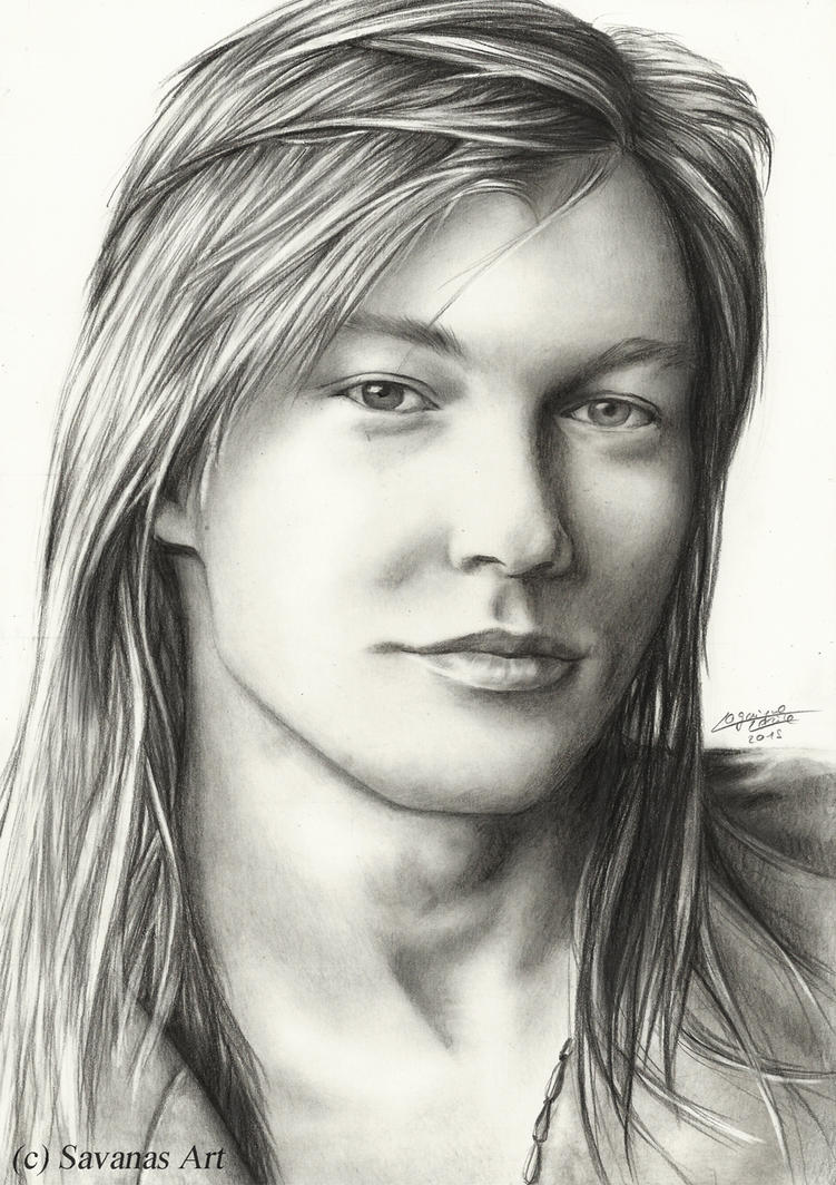 Axl by SavanasArt