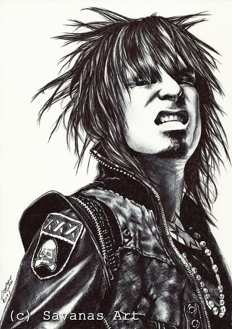 Nikki Sixx 6 by SavanasArt