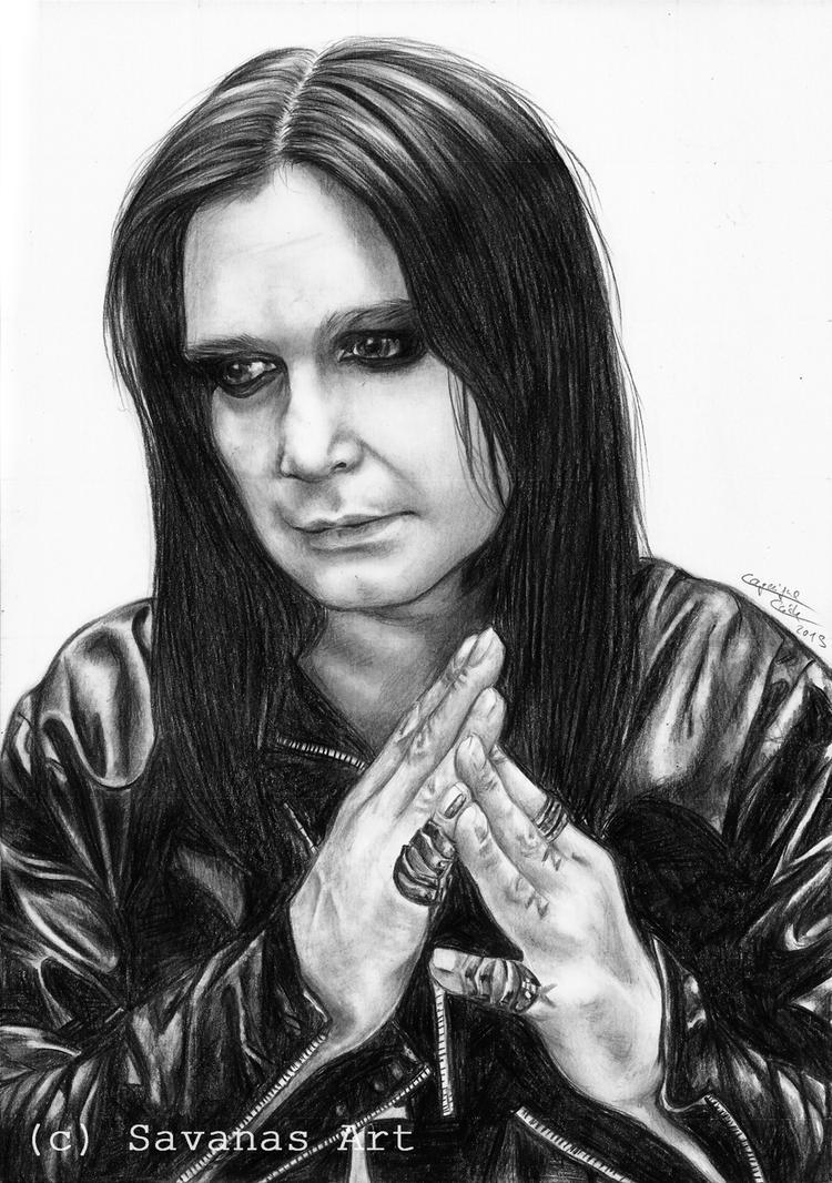 Ozzy Osbourne 2 by SavanasArt