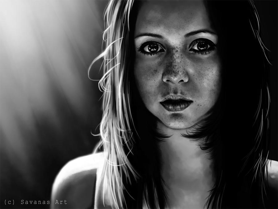 Freckles by SavanasArt