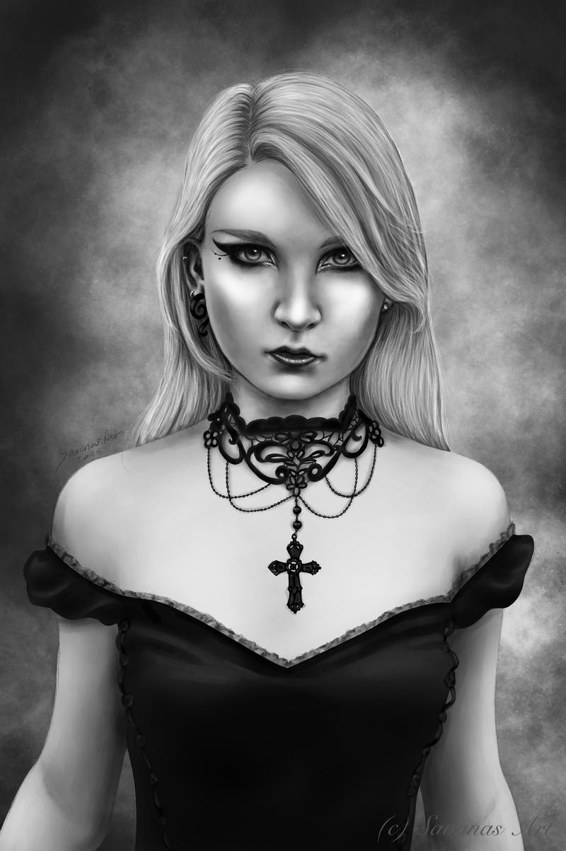 Black Velvet by SavanasArt
