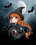 Little Witch by SavanasArt