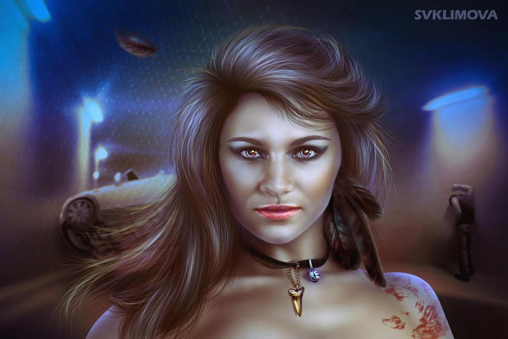 Twilight predator by SvetlanaKLimova