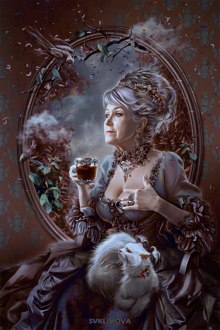 Morning coffee by SvetlanaKLimova