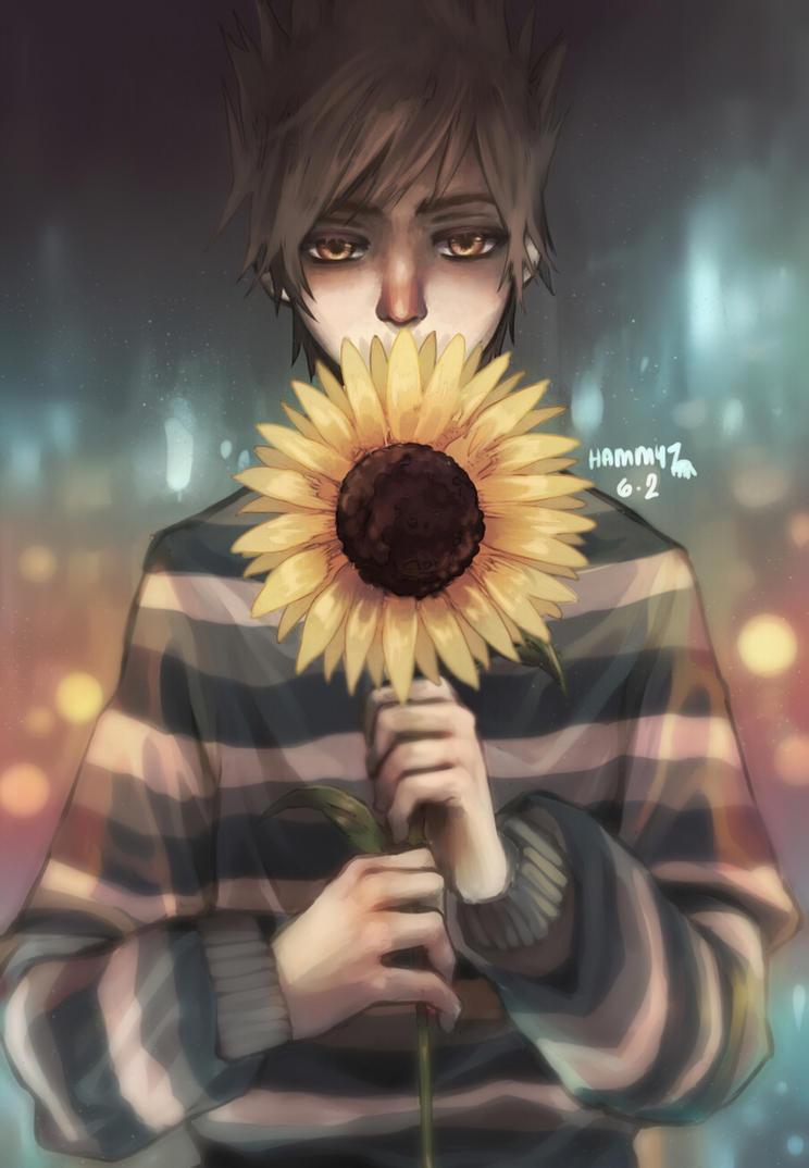 brighter than a sunflower by hammysaurus