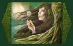 Emerald Angel by RomanticFae