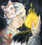 kitsune by RomanticFae