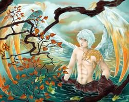 Autumn Angel by RomanticFae