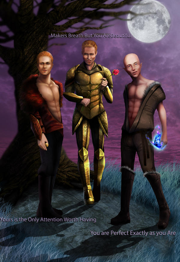 Trio of hot by RomanticFae