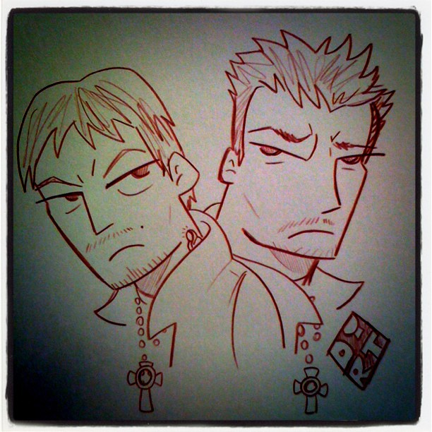 Boondock saints the animated series by dirtreynoldsdfw on - Boondock saints cartoon ...