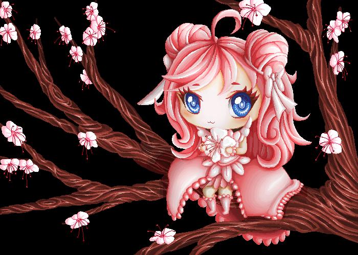 Sakura Mochi by BelieveTheHorror