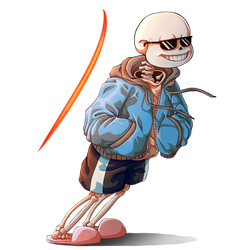 Sans the Dodge Boss by BelieveTheHorror
